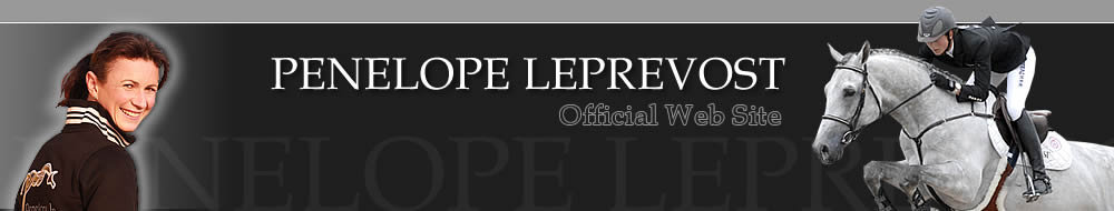 Penelope leprevost - Offical web site